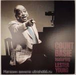 "Count Basie Featuring Lester Young-Count Basie Featuring Lester Young - Виниловые пластинки, Интернет-Магазин ""Ультра"", Екатеринбург"