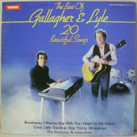 "Gallagher & Lyle - The Best Of Gallagher & Lyle (20 Beautiful Songs) - Виниловые пластинки, Интернет-Магазин ""Ультра"", Екатеринбург"