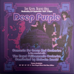 "Deep Purple, The Royal Philharmonic Orchestra Conducted By Malcolm Arnold - Concerto For Group And Orchestra - Виниловые пластинки, Интернет-Магазин ""Ультра"", Екатеринбург"